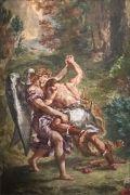 jacob-luttant-avec-ange-delacroix-saint-sulpice-paris